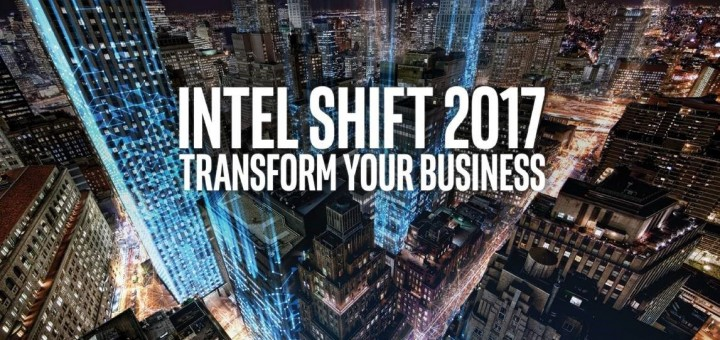 Intel SHIFT 2017 - big banner